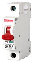 Модульный автоматический выключатель C63, 1 р, 63А, C, 10кА
