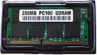 Память 256 MB SODIMM SDRAM PC100, 16 чипов
