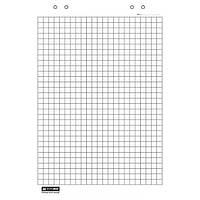 Блок бумаги для флипчартов, 20 листов, клетка, 64 х 90 см.