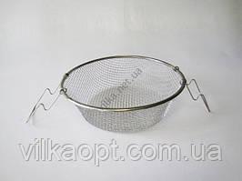 Фритюрниця нержавіюча 26 х 9,5 cm (100 шт)