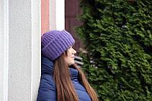 Шапка I&M Craft вязаная из кид-мохера в стиле Tak.Ori (090103), фото 2