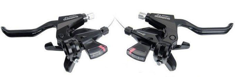 Моноблоки Shimano ST-M310, комплект 3+8 скоростей +тросики
