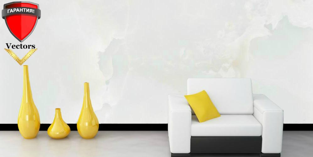 Венецианская штукатурка. полированный белый мрамор