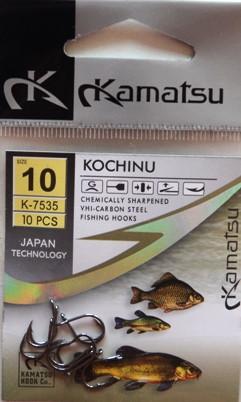Рибальські гачки Kamatsu kochinu, №10, 10шт