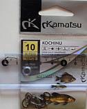 Рибальські гачки Kamatsu kochinu, №10, 10шт, фото 3