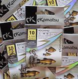 Рибальські гачки Kamatsu kochinu, №10, 10шт, фото 5