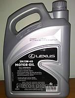 Оригинал масло моторное синтетическое LEXUS 5W-40, 4л*