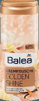 Крем гель для душа Balea Dusche & Creme Golden Shine-С ароматом ванильного цветка и лимона.