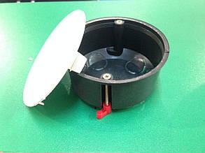 Распред коробка  розпайочна внутр гіпс з кришкою 80мм