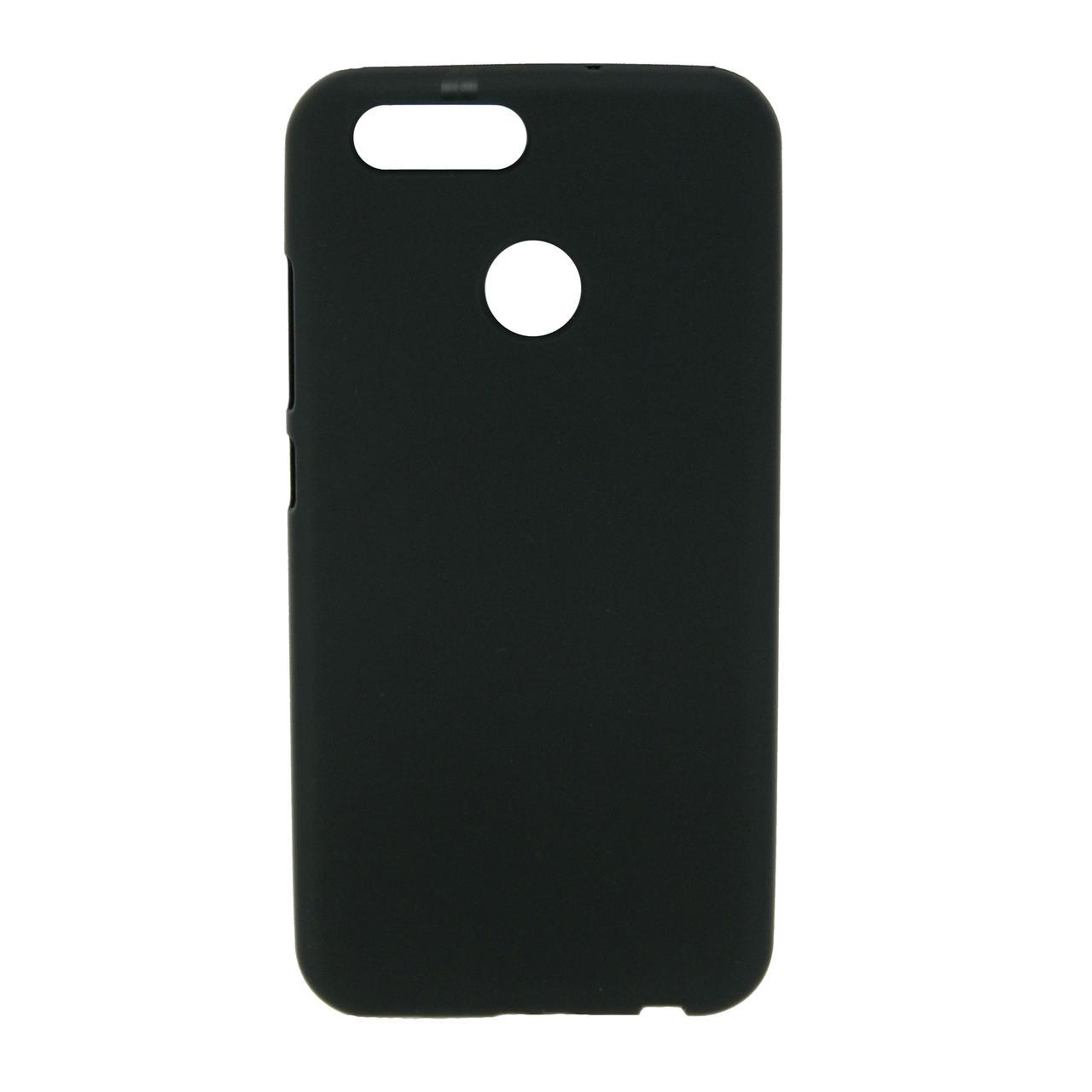 Чехол накладка для Huawei Nova 2 силиконовый матовый, черный