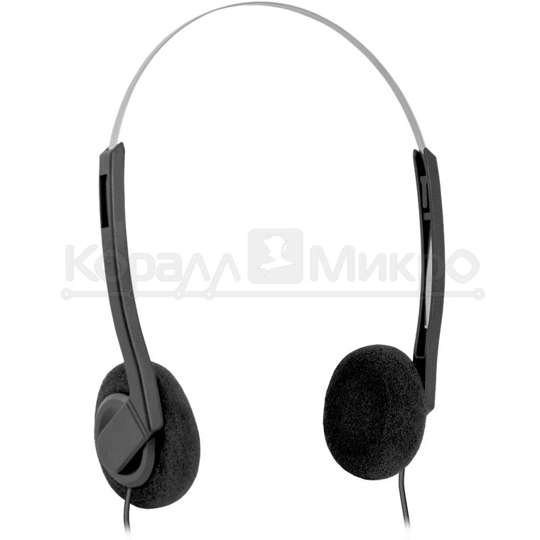 Наушники Defender Aura 99 с микрофоном, чёрный