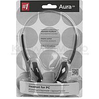 Наушники Defender Aura 99 с микрофоном, чёрный, фото 3