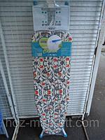 Доска гладильная Europa Capitol Sarayliс удлинителем рукавом и полкой для белья 120 см Х 38 см