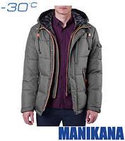 Куртка с жилетом зимняя мужская Ajento - 17193D темно-оливковая
