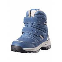 Зимние ботинки для мальчика Reimatec VISBY 569322-6740. Размеры 24 - 35.