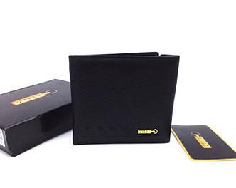 Мужское портмоне Zilli (305-043) leather black SR-744