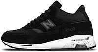 Мужские высокие кроссовки New Balance 1500 Black Нью Беланс 1500 черные
