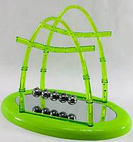 Шары Ньютона зеленые (17,5х11х15 см)