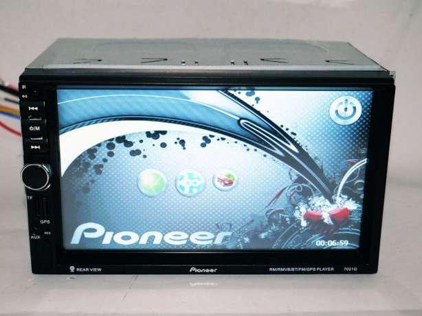 "Автомагнитола 2Din Pioneer 7018 7"" Экран USB+Bluetoth"