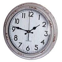 Постарений настінний годинник (35 см.), фото 1