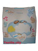 Одеяло-плед велсофт детский aksu турция  для новорожденных  в коляску кроватку