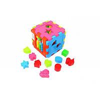 Куб - сортер со счётами   KINDERWAY
