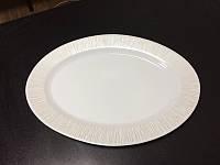 Блюдо сервировочное овальное 32 см Astera White Queen A0110-16111