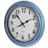 Состаренные настенные часы (35 см.), фото 1