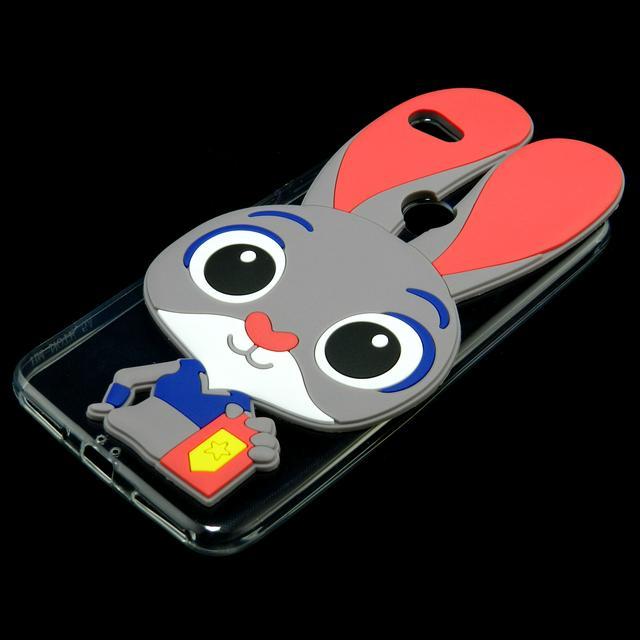 3d чехол Xiaomi Redmi Note 5A Prime силиконовый зверополис