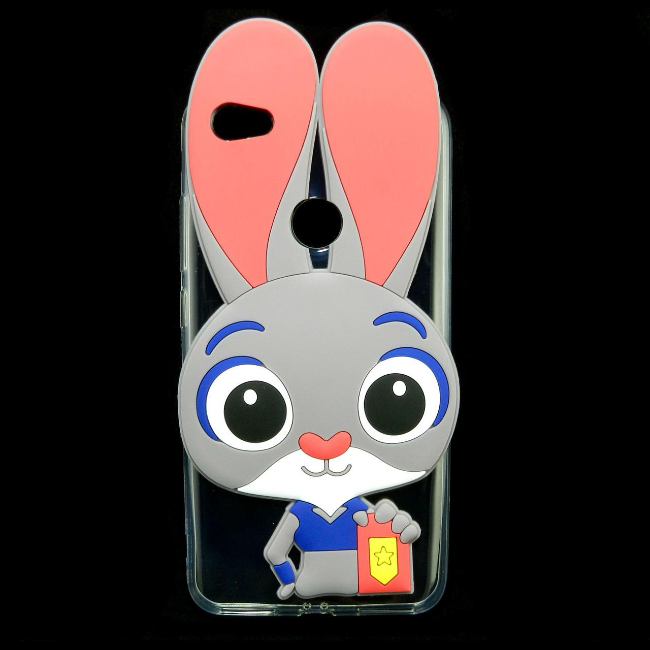 Чехол накладка для Xiaomi Redmi Note 5A PRIME силиконовый Зверополис, Крольчиха Джуди Хоппс