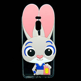 Чехол накладка для Meizu M6 Note силиконовый Зверополис, Крольчиха Джуди Хоппс