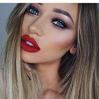 Помада жидкая стойкая Liquid lipstick Aden №14