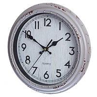 Настенные часы с потертостями (28 см.)