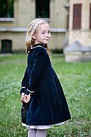 Платье черное вельветовое