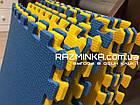 Детский коврик пазл 48х48х1см (сине-желтый), фото 3