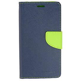 Чехол книжка для Xiaomi Redmi Note 5A боковой с отсеком для визиток, Mercury GOOSPERY Синий