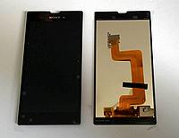 Оригинальный дисплей (модуль) + тачскрин (сенсор) для Sony Xperia T3 D5102   D5103   D5106   M50w (черный)