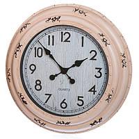 Состаренные большие настенные часы (46 см.), фото 1