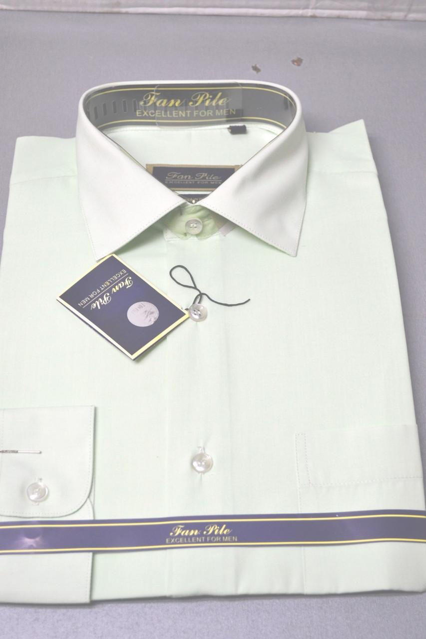 Мужская рубашка PAN FILO - классика (размеры 38,39.40)