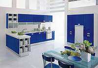 Кухни из пластика и акрила Киев, кухонная мебель с фасадами Акрилюкс