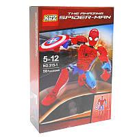Конструктор KSZ 315-1 Spider Man ,56дет