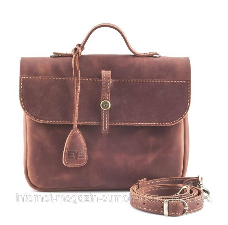 Женская мини-сумка LEVEL Лира 07620102 рыжий