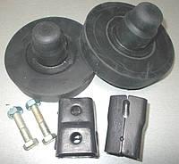 Комплект удлинителей подвески Daewoo Lanos, Sens задней (кубики+резинки)