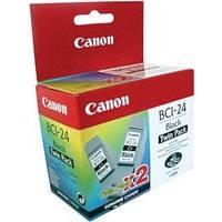 Чернильница Canon BCI-24Bk (twin pack) iP1000 1500/ 2000, MP110, i250/ i350, фото 2