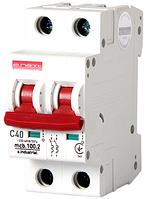 Модульный автоматический выключатель C40, 2 р, 40А, C, 10кА