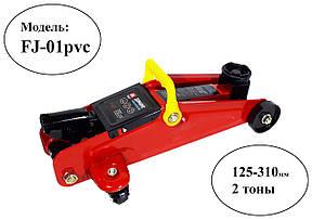 Домкрат подкатной 2т + кейс, Дорожная карта FJ-01 PVC, фото 2