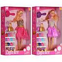 Лялька Defa Дефа 8316 полку з взуттям, фото 2