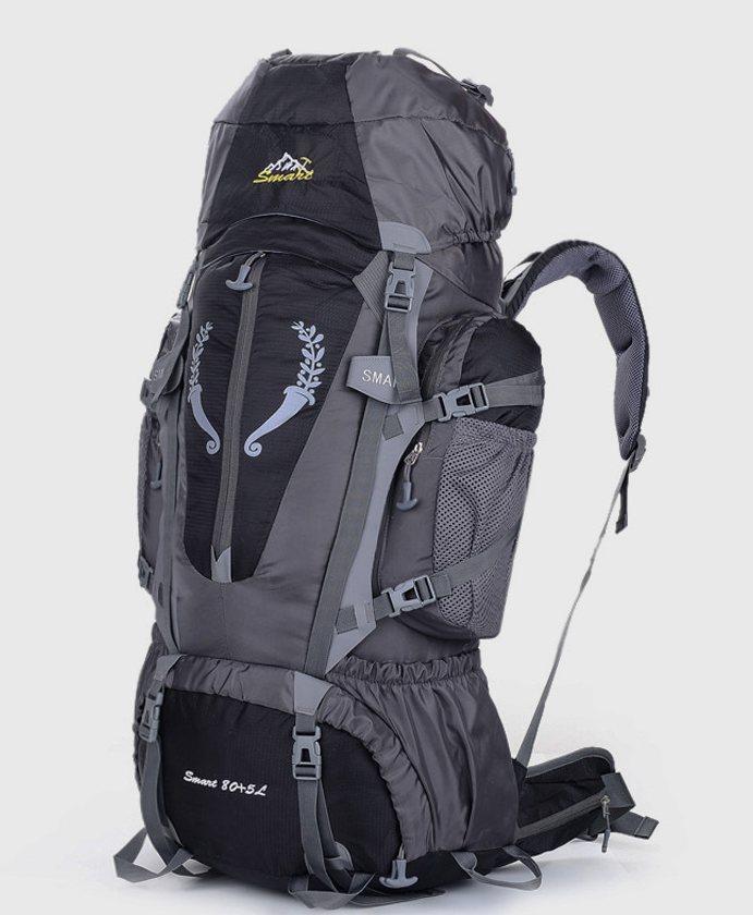 Рюкзак походный туристический Outland 80 L black