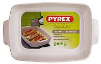 Форма для запекания PYREX SIGNATURE 35x25см прямоугольная керамика красная SG35RR8