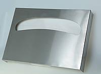 Диспенсер для покрытий на унитаз из нерж. стали, 27*5*39см